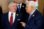 Jordan's King Abdullah and Palestinian leader Abbas meet, hope Biden revives peace process