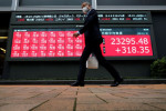 World equities inch higher to new records despite fears of pandemic spike