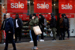 UK shopper numbers down 10.9% last week as lockdowns bite