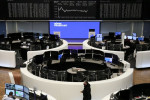 European shares rise on upbeat earnings reports