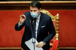 Italy's ruling parties talk up elections as Conte struggles for majority