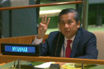 Myanmar U.N. envoy, junta make rival claims to U.N. representation