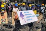 La police birmane disperse des manifestations hostiles à la junte