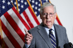 Between Trump and a hard place: Senate's McConnell faces bipartisan unpopularity - poll