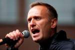 Jailed Kremlin critic Navalny says he has cough and temperature amid TB outbreak