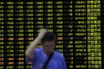 China stocks slump again in absence of govt support; Hong Kong rebounds