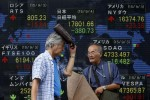 Asian shares slump on global growth concerns, U.S. selloff