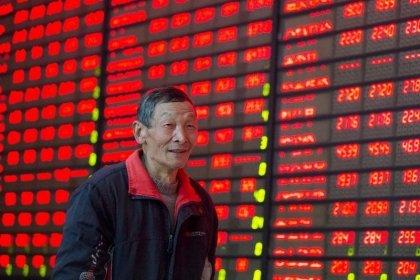 China stocks surge, led by property shares; Hong Kong follows global rally