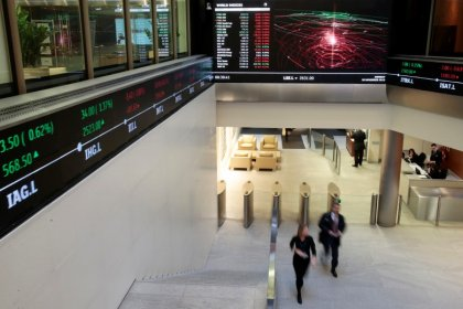 Global shares hit 2016 high, FX hit by Singapore sting