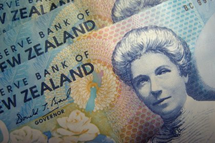 Kiwi hits 1-year high after RBNZ rate cut falls short of expectations