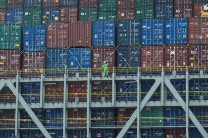 Handelsüberschuss der Euro-Zone schrumpft