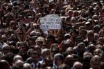 Una multitud proclama en Barcelona