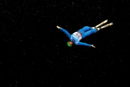 Olympics: British aerial skier Wallace suffers head injury in training crash