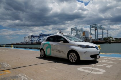 NuTonomy hopes for second-quarter 2018 launch of paid Singapore self-driving car rides