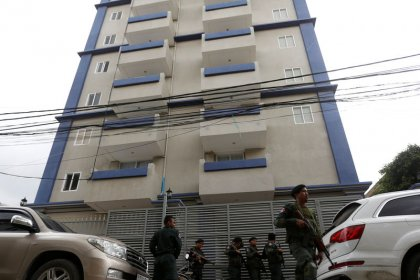 Chinese scam suspects took over 11-story block in Cambodia