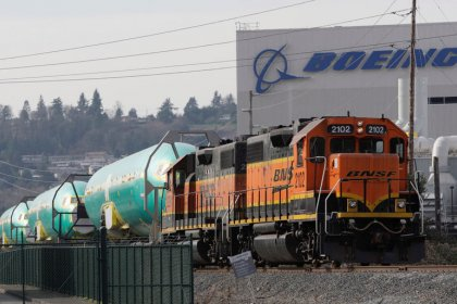 Thousands of rail workers back at Buffett's BNSF as volumes rise