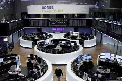 Global shares return to record high as Irma loses strength