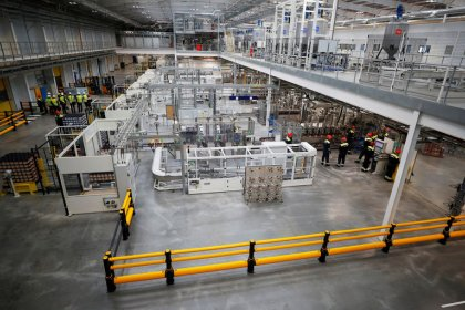 Industrieproduktion im Euroraum zieht im Juli leicht an