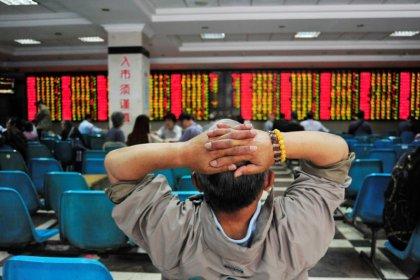 Weak China data knocks global stocks off record highs