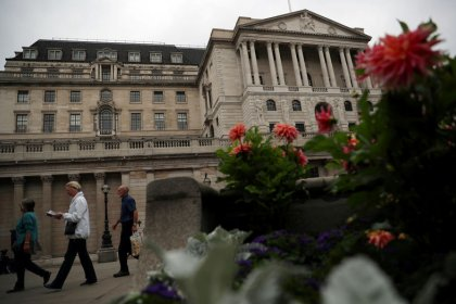 Bank of England dove echoes rate hike message, sterling jumps