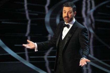 Late-night TV show host Kimmel blasts senator over healthcare bill