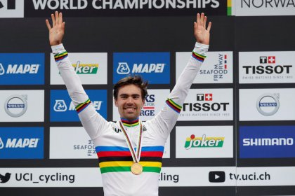 Cycling: Dumoulin crushes opposition to win maiden time trial title