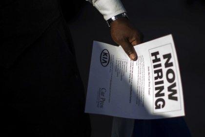 U.S. jobless claims fall; hurricanes still affecting data