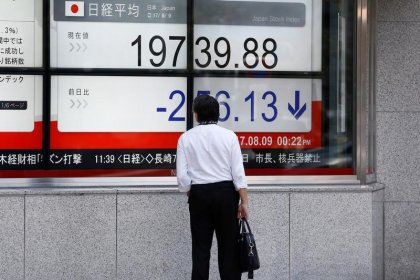 Asia stocks slip, yen and franc rise as North Korea moots H-bomb test