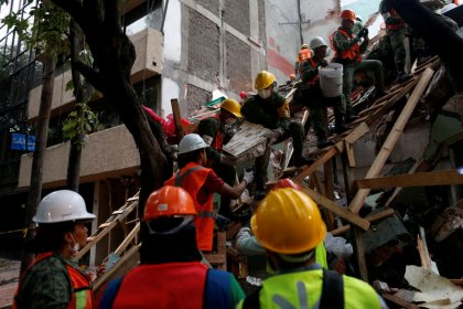 ارتفاع عدد قتلى زلزال المكسيك إلى 273 قتيلا