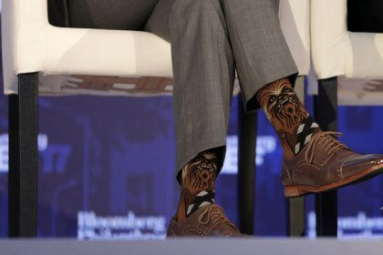 Canada's Trudeau sparks Star Wars/Star Trek spat with Chewbacca socks
