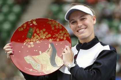 Wozniacki powers to Pan Pacific title in Tokyo