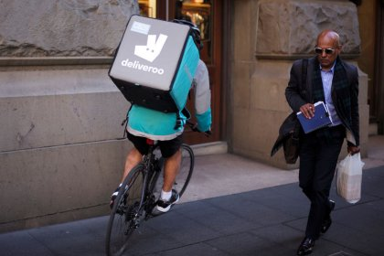 Deliveroo lève 385 millions de dollars, portant sa valorisation à plus de 2 milliards