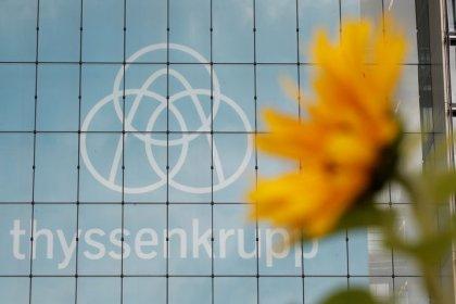 Thyssenkrupp raises 1.4 billion euros via share sale