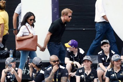 Prince Harry makes first public appearance with girlfriend