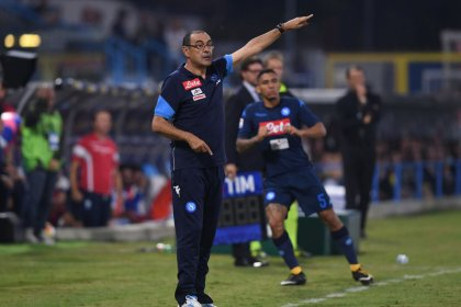 Napoli coach Sarri opposes reduction of Serie A teams