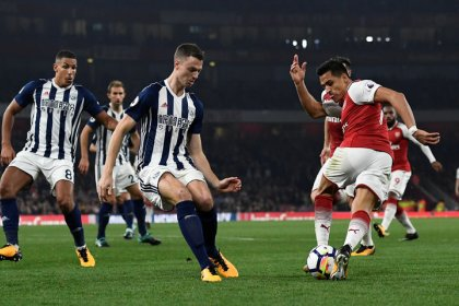 Lacazette strikes twice for Arsenal to see off West Brom