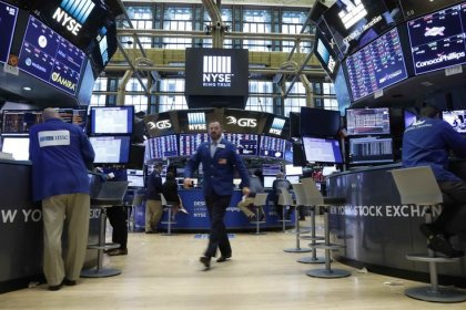 Wall St. edges up on modest tech rebound