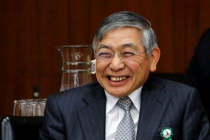 اليابان تعين كورودا محافظا للبنك المركزي لولاية جديدة