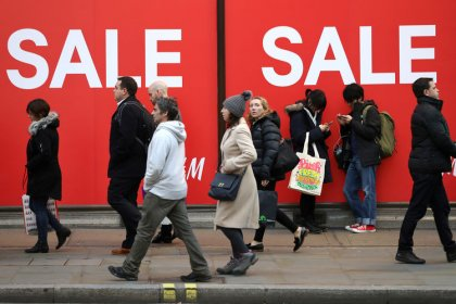 British shoppers' New Year diets squeeze January retail sales