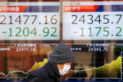 Asian shares extend global recovery as volatility subsides