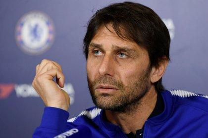 """Conte diz que Chelsea precisa de """"jogo perfeito"""" contra o Barcelonana Liga dos Campeões"""