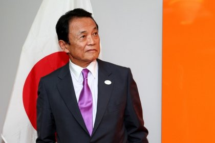 Japan's Aso: Economy out of asset price deflation doldrums