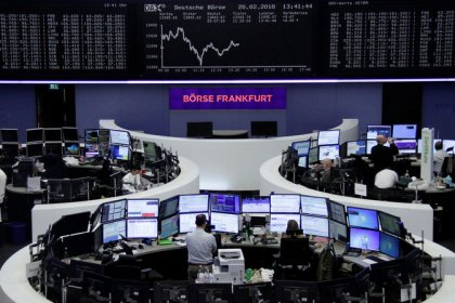 Global stocks sink as bond yields, dollar regain traction