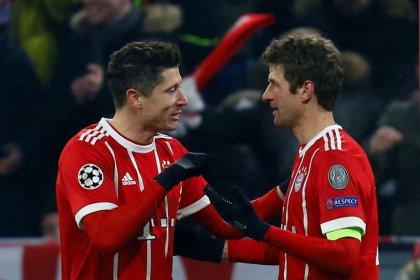 Bayern de Munique se aproveita de expulsão no início e goleia Besiktas por 5 x 0