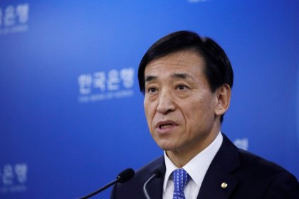 South Korea central bank chief says ready for rapid Fed rate hikes