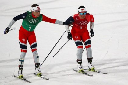 Cross-country skiing - History-maker Bjoergen not finished yet