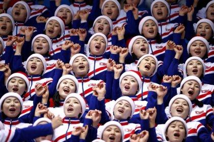 Atletas norte-coreanos saem sem medalha, mas empolgam torcida da Olimpíada de Inverno