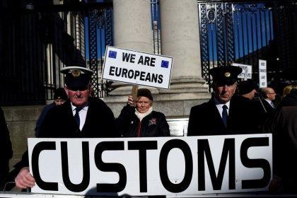 Brexit customs deal may still lead to Irish border checks - minister