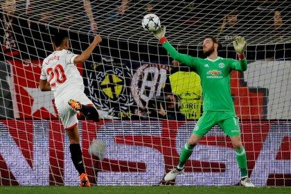 Goleiro De Gea garante empate do Manchester United com o Sevilla