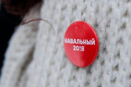 Российский оппозиционер Навальный сообщил, что его задержала полиция
